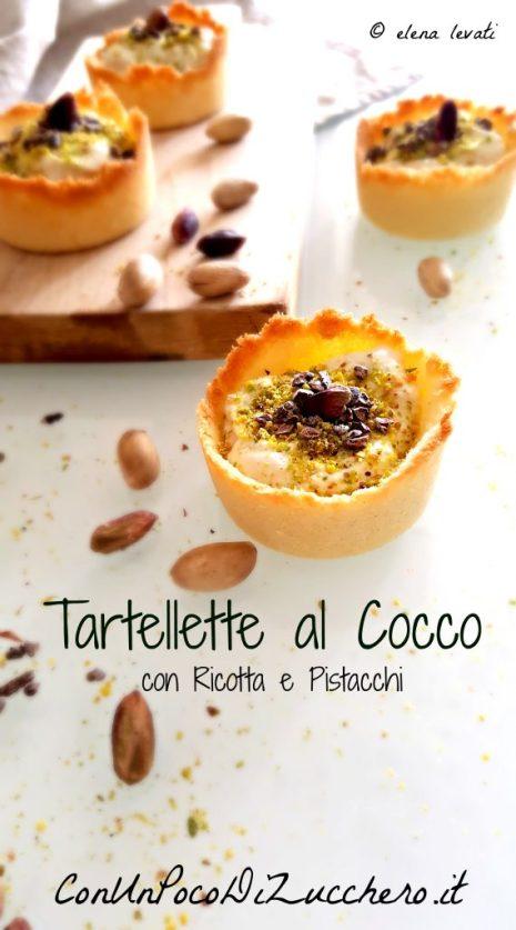 Tartellette al cocco