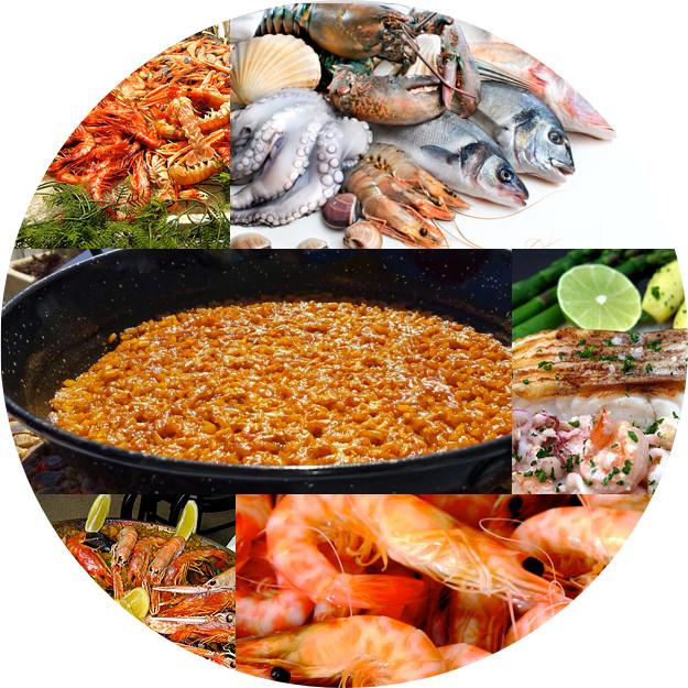 Gastronomía en Mar de Cristal
