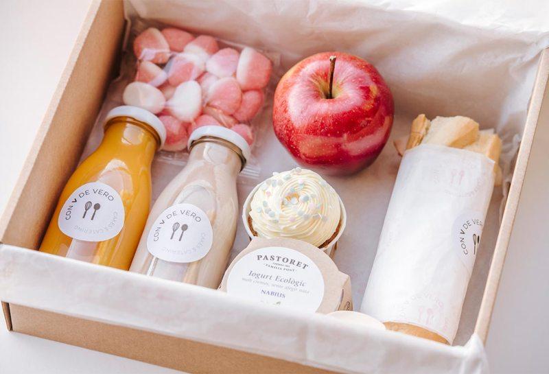 Caja desayuno infantil
