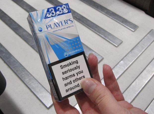 Cigarette 10 packs banned under new EU rules