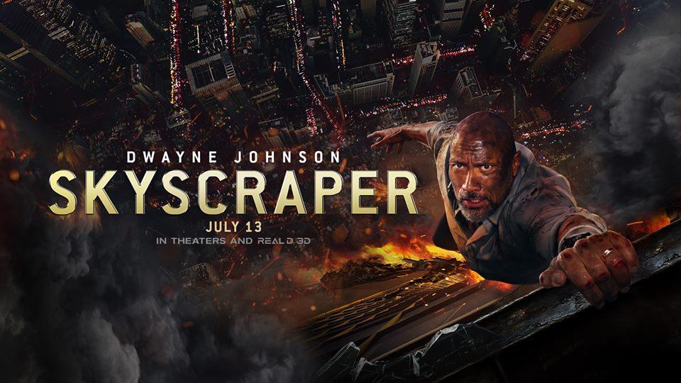 Image result for skyscraper movie poster