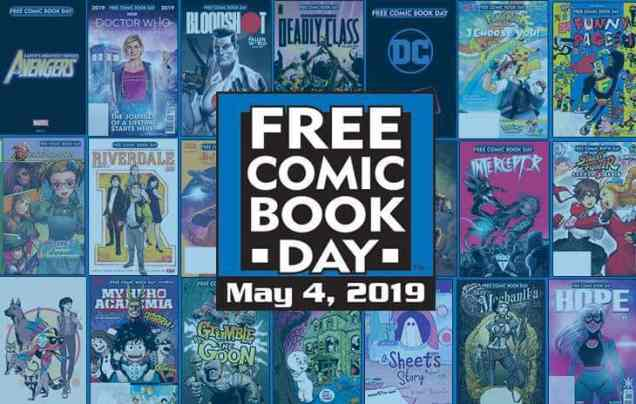 Image result for free comic book day 2019