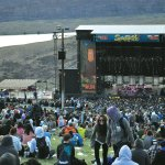 The stage at Sasquatch