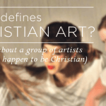What defines Christian Art?