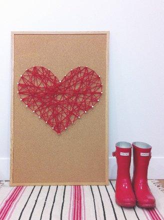 DIY_Heart_Yarn_Wall_Art