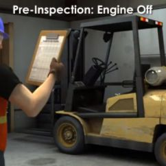 4 Prong Forklift Pa Sound System Wiring Diagram How To Operate A Pre Op Traveling Loading And Maintenance Engine Off Preinspection Image