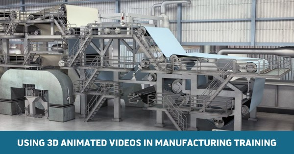 Online Manufacturing Training Using 3D Animations for