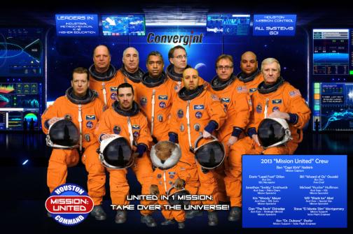Mission United crew