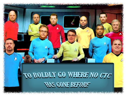 To go boldly where no team has gone before