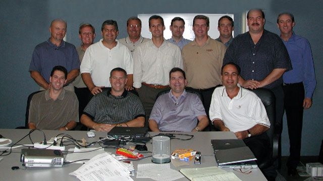 Early convergint colleagues group photo header image