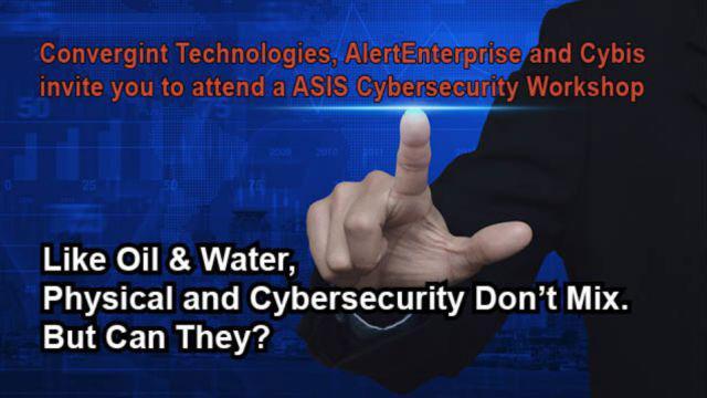 Web post ASIS Cyber security workshop header image