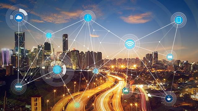 smart city and wireless communication network header image