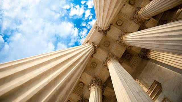 Columns at the U.S. Supreme Court header image