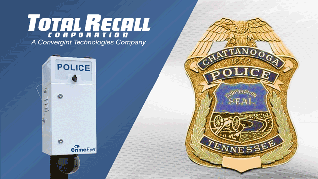 Total Recall Corporation and Chattanooga Police header image