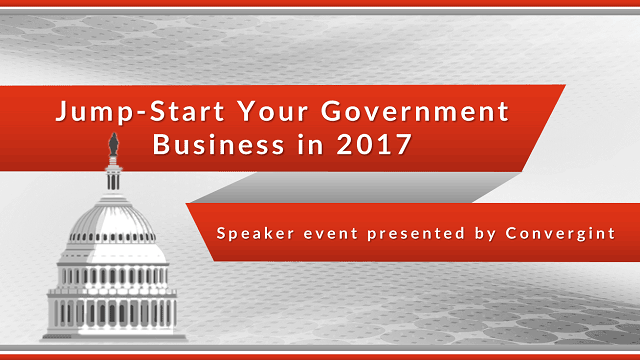 Jump-starter your government business in 2017 speaker presented by Convergint header image