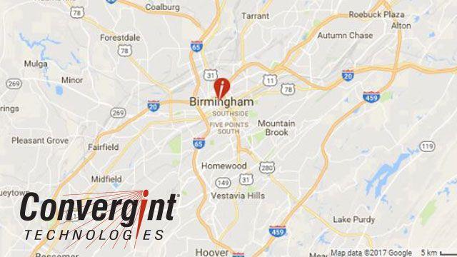 Convergint Technologies Birmingham, Alabama on a map