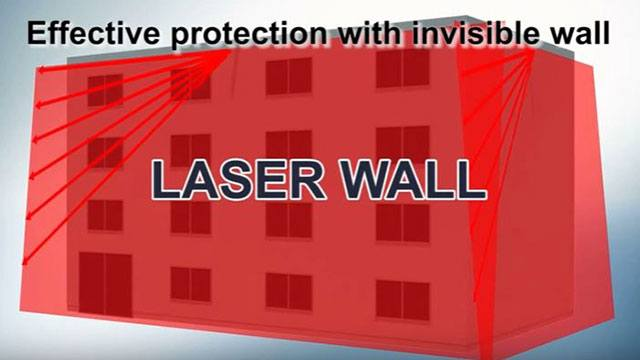 Building with laser wall header image