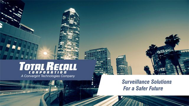 Total Recall Surveillance solutions for safer future