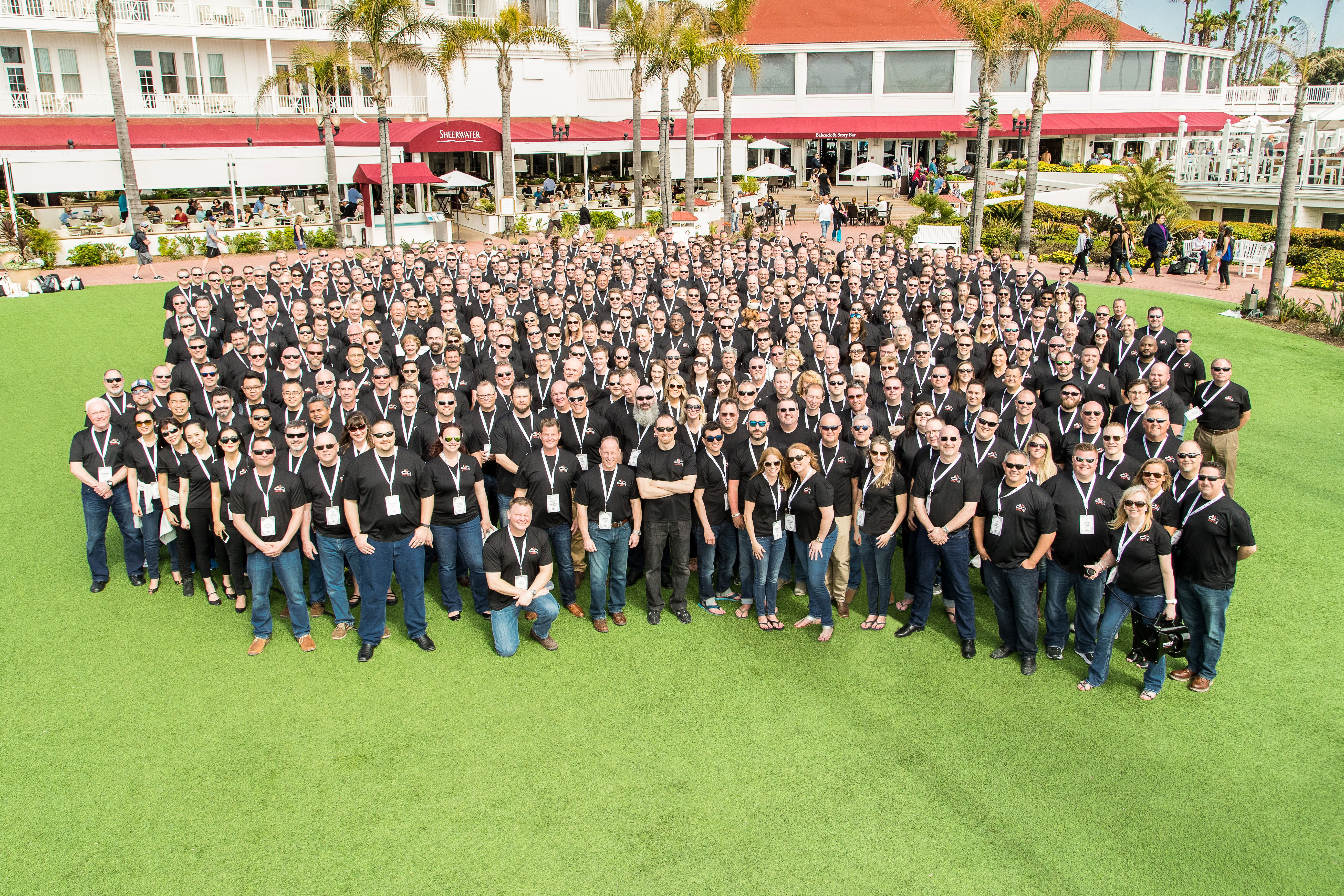 Convergint Colleagues Group photo