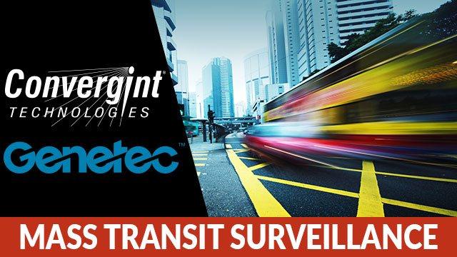 Convergint Mass Transit Surveillance header image