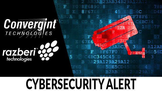 Cyber Security Alert Header Image
