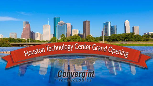Houston technology center grand opening header image