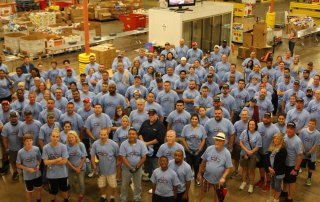 North Texas Food Bank 2017 Convergint day