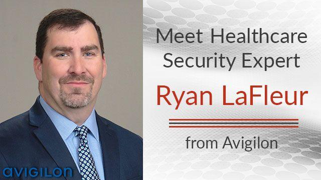 Ryan Lafleur security expert from Avigilon