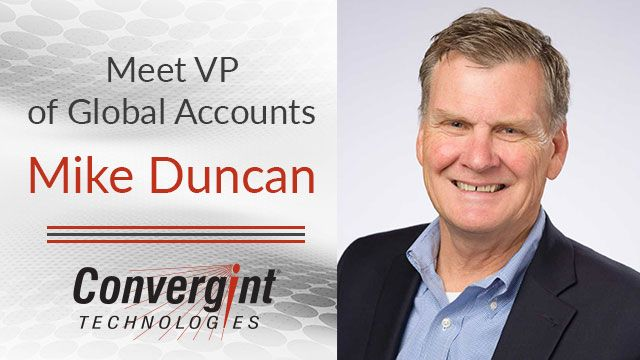 Mike Duncan Vice President of Global Accounts Convergint Technologies Header Image