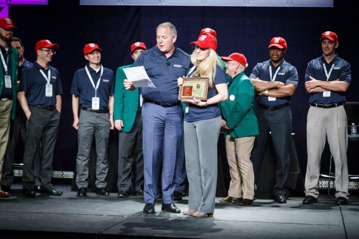 Convergint Nation Conference 2018 Award Acceptance