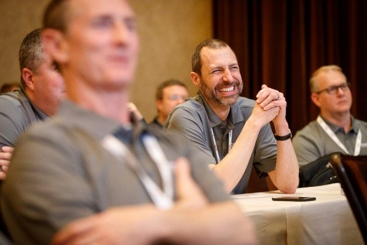 Convergint Nation Conference 2018 Colleague Laughing Image
