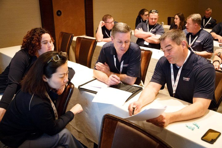 Convergint Nation Conference 2018 Group Discussing Image