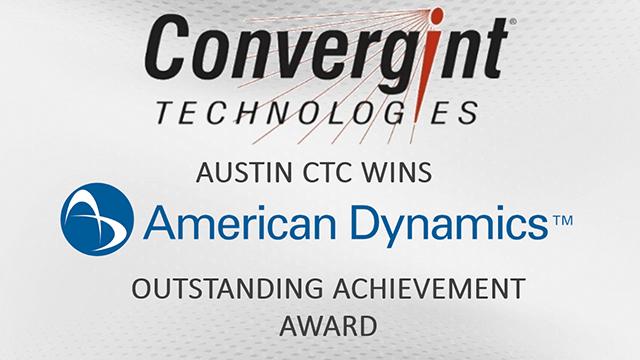 Convergint Wins American Dynamics Award Header Image