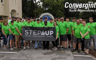 Convergint Colleagues in Charleston for STEP Up project