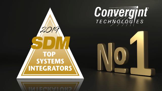 Convergint Wins SDM Top Integrator 2019