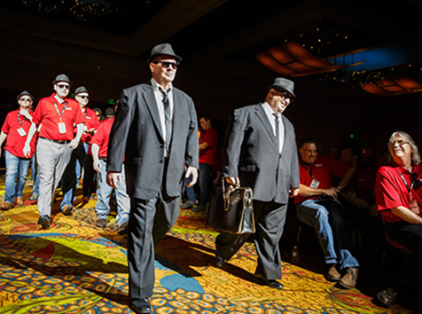 Blues Brothers Opening