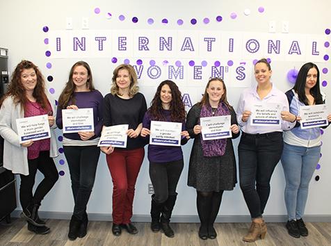 Convergint International Women's Day