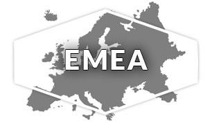 EMEA Region Map