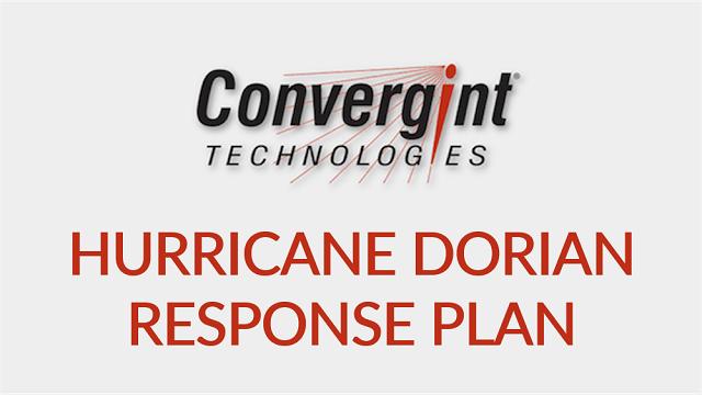 Hurricane Dorian Response Plan
