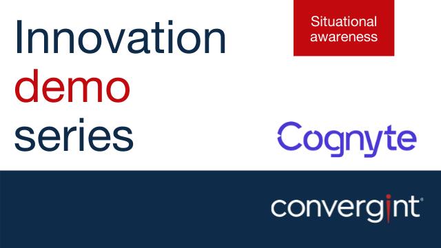 Cognyte Innovation Demo Series