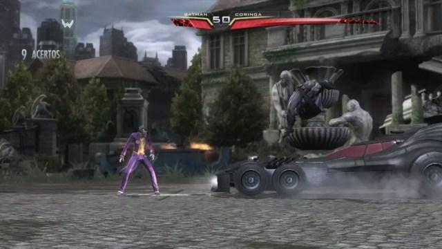 Batman chama seu bat-móvel ao ativar seu especial