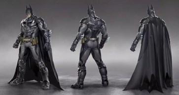 Artes conceituais de Batman: Arkham Knight