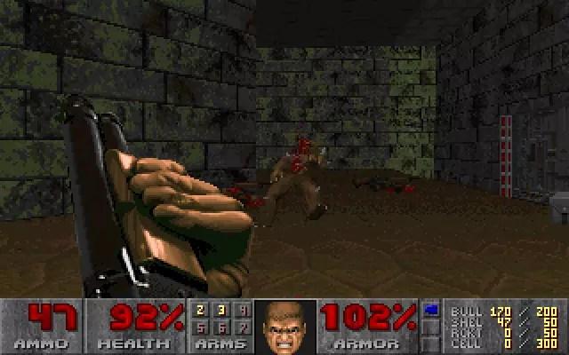 "Doom (E2M1): ""Deimos Anomaly"""