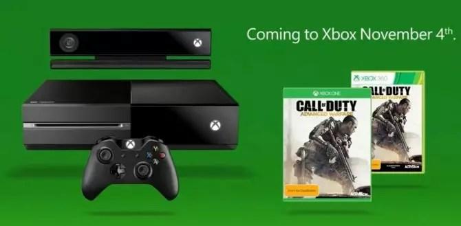Pré-venda do novo Call of Duty, no Xbox