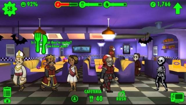 Fallout Shelter Halloween