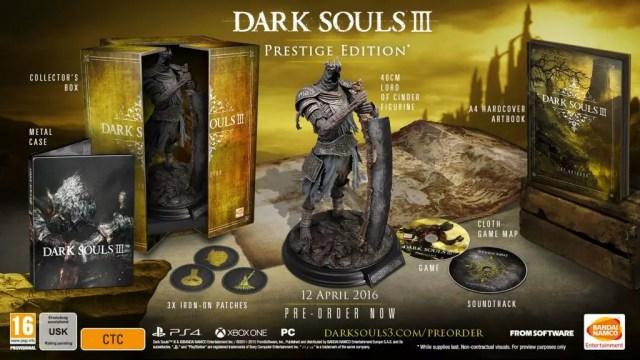 Dark Souls 3: The Prestige Edition