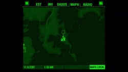 Pip-Boy Mapa