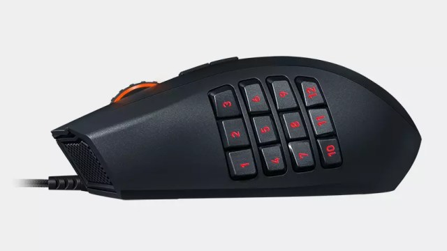 Botões laterais do Razer Naga Chroma