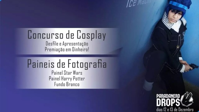 Concurso de cosplay e painéis de fotografia marcam presença na Parada Nerd Drops