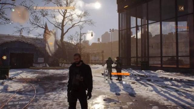 Uma das primeiras áreas disponíveis na beta de The Division
